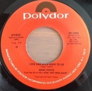 7inch Vinyl Single - Isaac Hayes - I Ain't Never