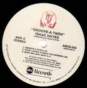 LP - Isaac Hayes - Groove-A-Thon