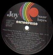 LP - Isaac Hayes - Joy