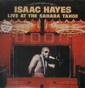 Double LP - Isaac Hayes - Live At The Sahara Tahoe
