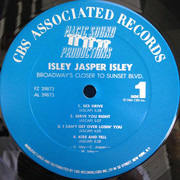 LP - Isley Jasper Isley - Broadway's Closer To Sunset Blvd. - Pitman Pressing