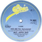 12'' - Isley Jasper Isley - Kiss And Tell