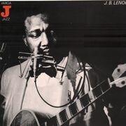 LP - J.B. Lenoir - Alabama Blues