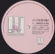 12inch Vinyl Single - J.T. And The Big Family - Moments In Soul
