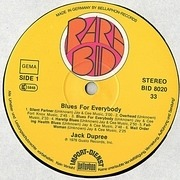 LP - Jack Dupree - Blues For Everybody