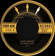 7inch Vinyl Single - Jack White - Fly Farm Blues - Etched
