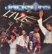 Double LP - Jacksons, The - Live