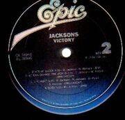 LP - Jacksons, The Jacksons - Victory
