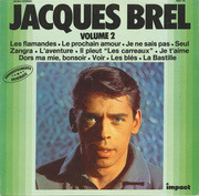 LP - Jacques Brel - Volume 2