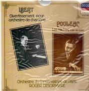 LP - Jacques Ibert / Francis Poulenc - Divertissement / Les Biches - Ballet Suite - Still Sealed