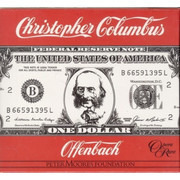 LP-Box - Jacques Offenbach , London Mozart Players , Alun Francis - Christopher Columbus - Hardcover Box