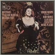 Double LP - Jacques Offenbach / Régine Crespin , Mady Mesplé , Alain Vanzo , Michel Plasson - La Grande Duchesse De Gerolstein - booklet with libretto