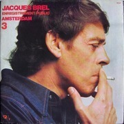 LP - Jacques Brel - 3 - Enregistrement Public Amsterdam - Gatefold Sleeve