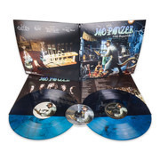 Double LP & CD - Jag Panzer - The Deviant Chord - Transparent Tourquise with Black Swirls