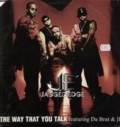 12inch Vinyl Single - jagged edge - the way that you talk