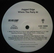 12inch Vinyl Single - Jagged Edge - Where The Party At