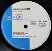 LP - James Blood Ulmer - Part Time