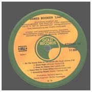 LP - James Booker - Live!