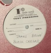 LP - James Brown - Black Caesar - test pressing