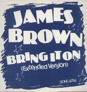 12inch Vinyl Single - James Brown - Bring It On