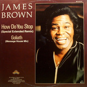 12inch Vinyl Single - James Brown - How Do You Stop / Goliath