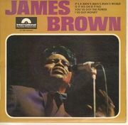 7inch Vinyl Single - James Brown - It's A Man's Man's Man's World - Original French EP