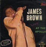 Double LP - James Brown - Live At The Apollo