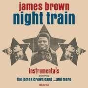 LP - James Brown - Night Train - RED VINYL