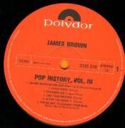 Double LP - James Brown - Pop History Vol. 3