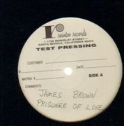 LP - James Brown - Prisoner Of Love - test pressing