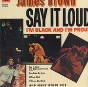 LP - James Brown - Say It Loud (I'm Black And I'm Proud)