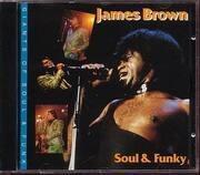 CD - James Brown - Soul & Funky