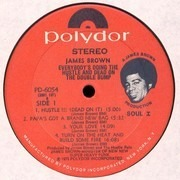 LP - James Brown - Everybody's Doin' The Hustle & Dead On The Double Bump