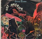 7inch Vinyl Single - James Brown - Hey America