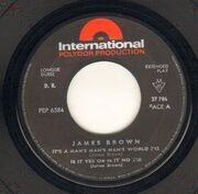 7inch Vinyl Single - James Brown - It's A Man's Man's Man's World - Original French EP