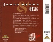 CD - James Brown - James Brown & Friends - Soul Session Live