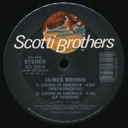 12inch Vinyl Single - James Brown - Living In America
