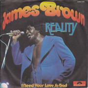 7inch Vinyl Single - James Brown - Reality
