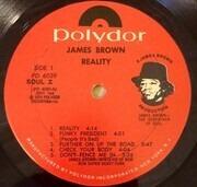 LP - James Brown - Reality