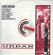12inch Vinyl Single - James Brown - She's The One (Remix)