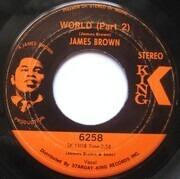 7inch Vinyl Single - James Brown - World (Part 1 & 2)