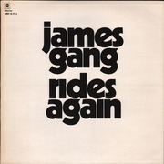 LP - James Gang - James Gang Rides Again