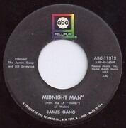 7inch Vinyl Single - James Gang - Midnight Man / White Man - Black Man