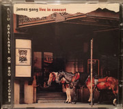 CD - James Gang - Live In Concert