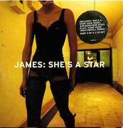 CD Single - James - She's A Star - CD3, Cardboard Sleeve