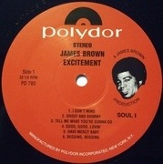 LP - James Brown - Excitement