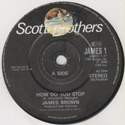 7inch Vinyl Single - James Brown - How Do You Stop