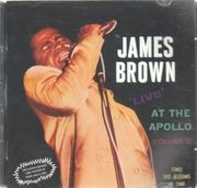 Double CD - James Brown - Live At The Apollo Vol. 2