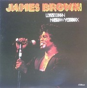 Double LP - James Brown - Live In New York