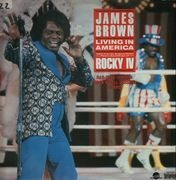12inch Vinyl Single - James Brown - Living in America / Rocky IV